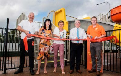Ingenia Holidays Cairns Coconut unveil new water slide