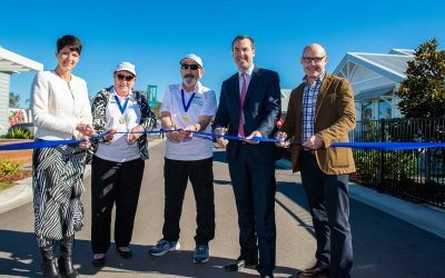 Latitude One's gold class display village opened by Port Stephens dignitaries