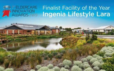 Ingenia Lifestyle Lara nominated as Finalist at international innovation awards