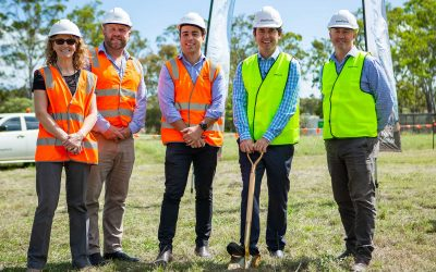 Mayor breaks ground on popular lifestyle community in Hervey Bay